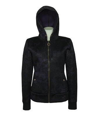 mikina Rip Curl Etno Polar Zip - Solid Black  90818b918b