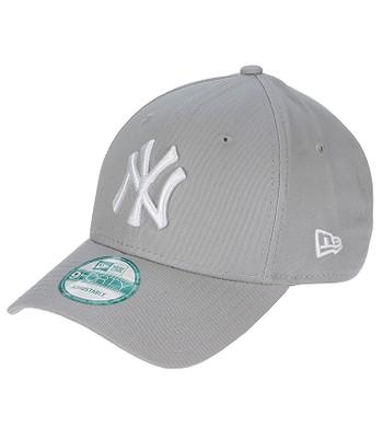 cap New Era 9FO League Basic MLB New York Yankees - Gray/White