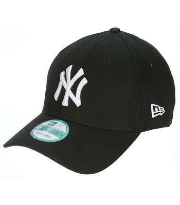 kšiltovka New Era 9FO League Basic MLB New York Yankees - Black/White