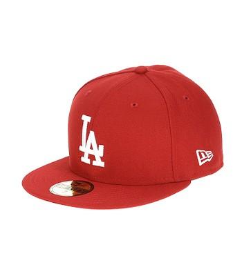kšiltovka New Era 59F League Basic MLB Los Angeles Dodgers - Scarlet White 640ad25c54