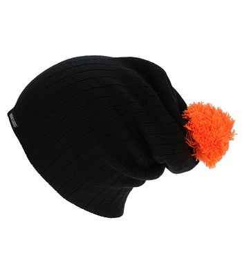 fdf18e37136 čepice Urban Classics Neon Contrast Bobble TB312 - Black Orange ...