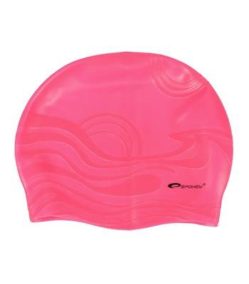 kúpacia čiapka Spokey Shoal - K82252 Pink  9adb776e284