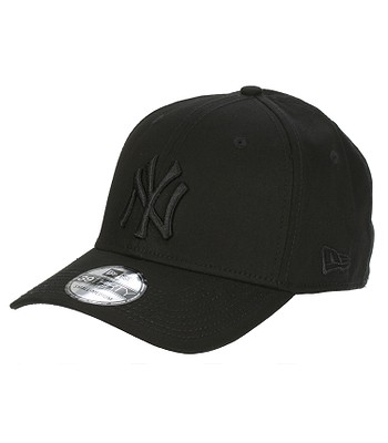 Schildmütze New Era 39T League Basic MLB New York Yankees - Black On Black