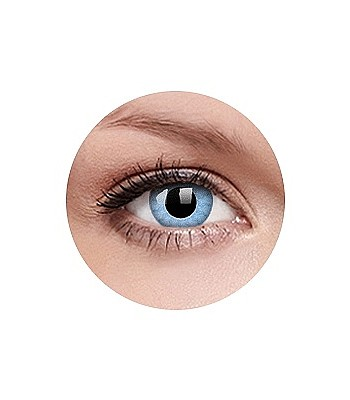 f021012e7 kontaktné šošovky Crazy Lens Ročné - Solar Blue | blackcomb.sk