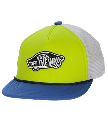 czapka z daszkiem Vans Classic Patch Trucker - Frog Yellow