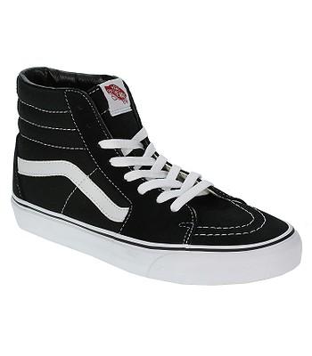 topánky Vans Sk8-Hi - Black/Black/White