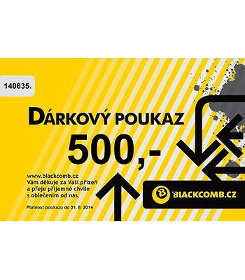 poukázka Blackcomb 500 - Yellow