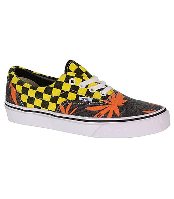 75b33f33488 shoes Vans Era - Van Doren Orange Palm Yellow Checker - blackcomb ...