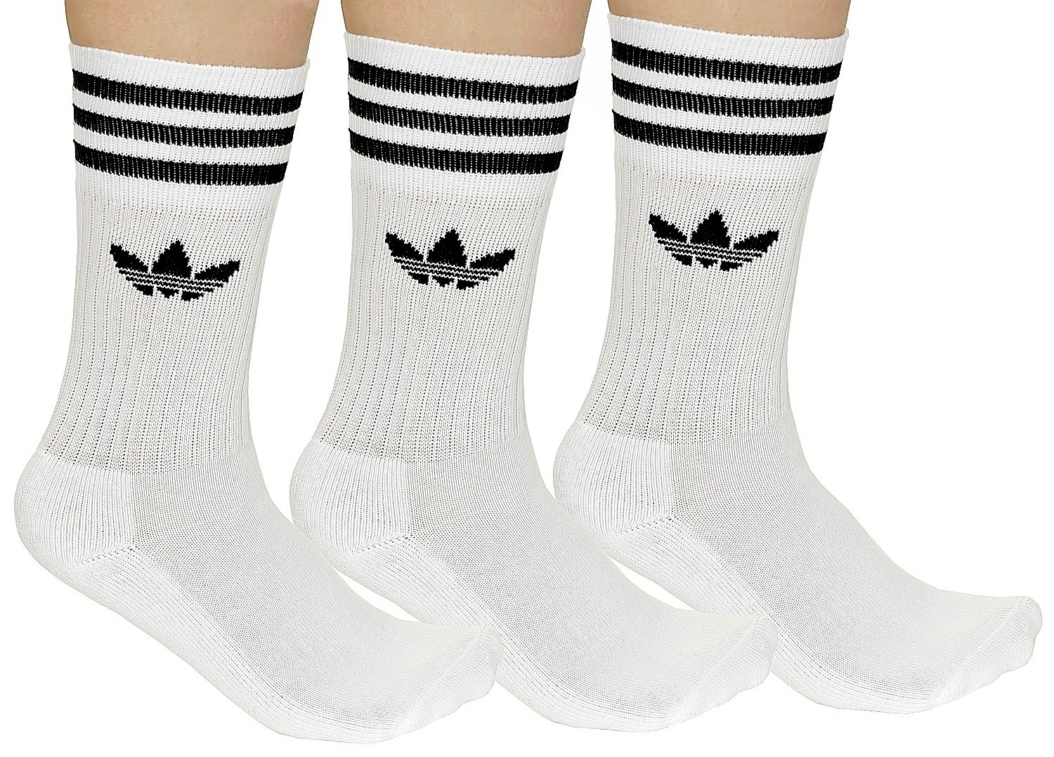 adidas Solid Crew Sock 3 pack »