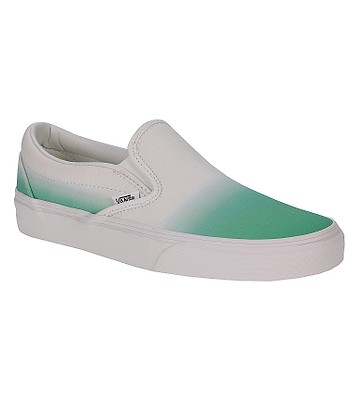 50e3de41a5a41d Vans Classic Slip-On Shoes - Dip Dye Mint True White - blackcomb-shop.eu