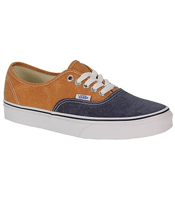 199e1ab9a70f5a boty Vans Authentic - Washed 2 Tone Peacoat Golden Ochre