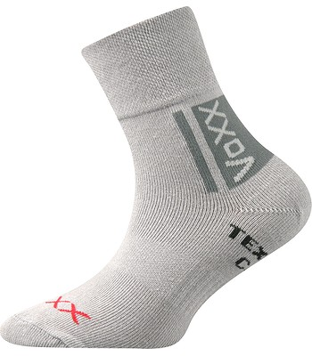 6e65aa77335 ponožky Voxx Optifanik - Light Gray