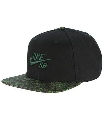 f11edafda00f šiltovka Nike SB Seasonal Snapback - 010 Black Black Gorge Green ...
