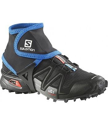 návleky Salomon Trail Gaiters Low - Black Union Blue  32dc4222dbf