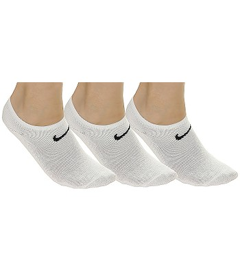 socks Nike Value No Show 3 Pack - 101/White/Black