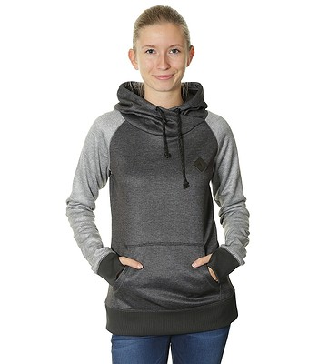 e61b1215d mikina Burton Heron Pullover - True Black Heather | Blackcomb.cz