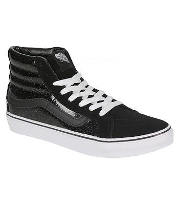 2852d08727e8a7 shoes Vans Sk8-Hi Slim - Patent Galaxy Black True White - blackcomb ...