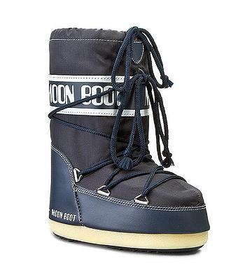 chaussures Tecnica Moon Boot Nylon - Denim Blue