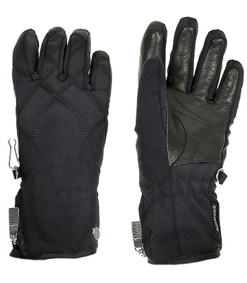 4a49d178412 rukavice Snowlife Prima Soft Shell - 029 Black