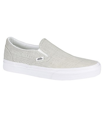 b510b2c687 Vans Classic Slip-On Shoes - Chambray/Gray/True White - blackcomb ...