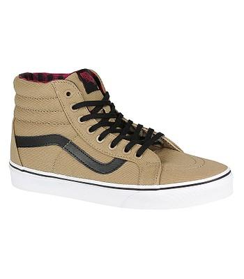 0c9a4fe45d5 shoes Vans Sk8-Hi Reissue - Twill   Gingham Cornstalk Black ...