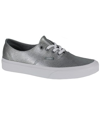 41c3447353e965 Vans Authentic Decon Shoes - Metallic Leather Gray - blackcomb-shop.eu