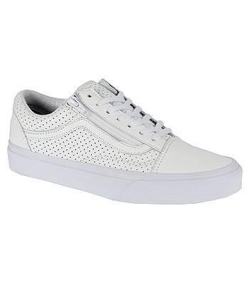 f2c42e64d9 shoes Vans Old Skool Zip - Perf Leather True White - blackcomb-shop.eu