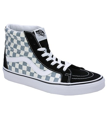 0176b7ccf2 boty Vans Sk8-Hi Reissue - Checkerboard Black Citadel