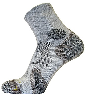 ponožky Northman Trekking Mid - White/Brown