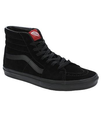 chaussures Vans Sk8-Hi - Black/Black