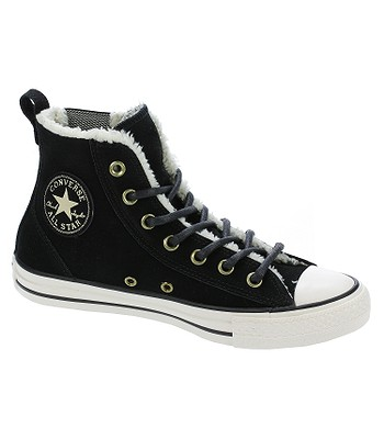 boty Converse Chuck Taylor All Star Chelsee Material Suede -  549599 Black Natural Egret d56c35a9f1c