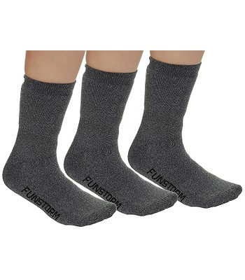 ponožky Funstorm Sekul 3 Pack - Dark Gray