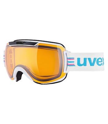 cd18a0d77 okuliare Uvex Downhill 2000 Race - White/Black/Lasergold Lite ...