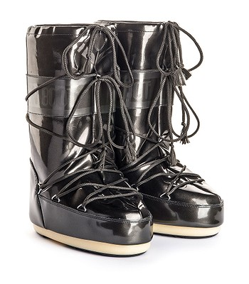 shoes Tecnica Moon Boot Vinile Met - Black