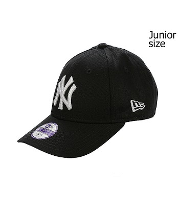 dziecięca czapka z daszkiem New Era 9FO League Basic MLB New York Yankees Youth - Black/White