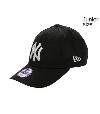 Kappe New Era 9FO League Basic MLB New York Yankees Youth - Black/White
