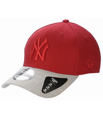 kšiltovka New Era 39T Diamond Era Jersey MLB New York Yankees - Scarlet Gray 7d1ca6a0fb