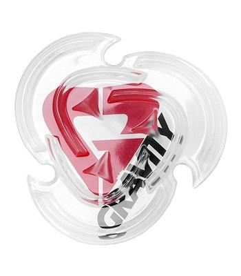 05ba990502 grip Gravity Heart Mat - Black Red