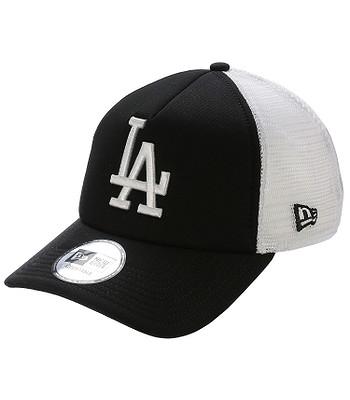 cap New Era 9FO Clean Trucker MLB Los Angeles Dodgers - Black/White