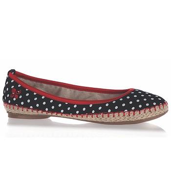 shoes Butterfly Twists Gigi - Black/White Polka Dot