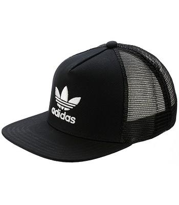 1137ff69c3a73 czapka z daszkiem adidas Originals Trefoil Trucker - Black -  blackcomb-shop.eu
