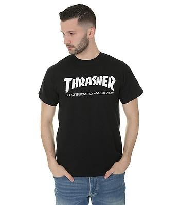 tričko Thrasher Skate Mag - Black