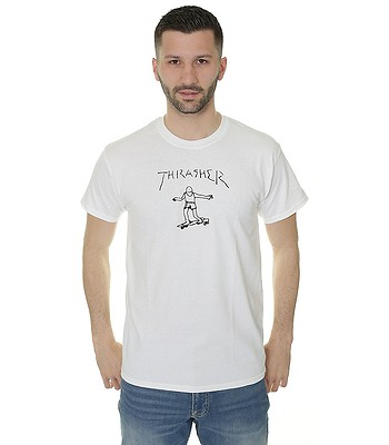 T-shirt Thrasher Gonz - White