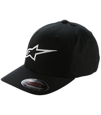Baseball Cap Alpinestars Ageless Curve - Black/White