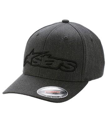 czapka z daszkiem Alpinestars Blaze Flexfit - Dark Heather Gray/Black