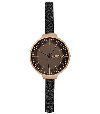 hodinky RumbaTime Orchard Leather - Rose Gold Lights Out  416d226a892