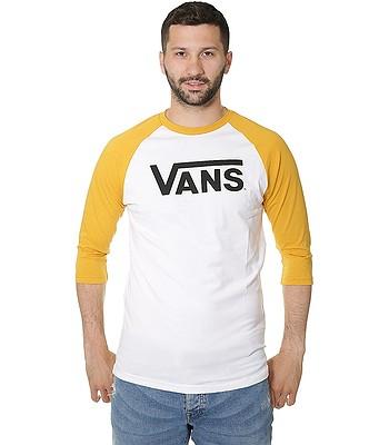 tričko Vans Classic Raglan - White Mineral Yellow  ebb2dd6eb2
