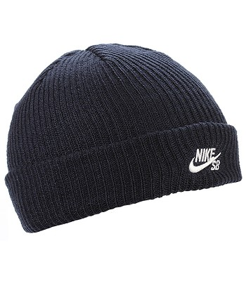 buy popular 161ac a6606 beanie Nike SB Fisherman - 452 Obsidian White - blackcomb-shop.eu