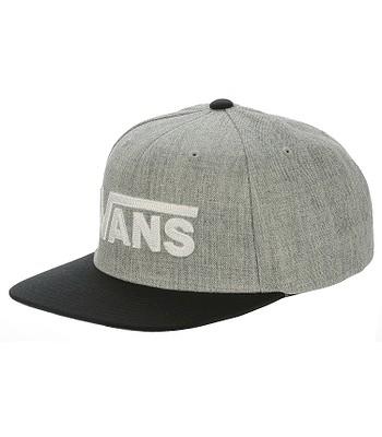 czapka z daszkiem Vans Drop V II Snapback - Heather Gray/Black