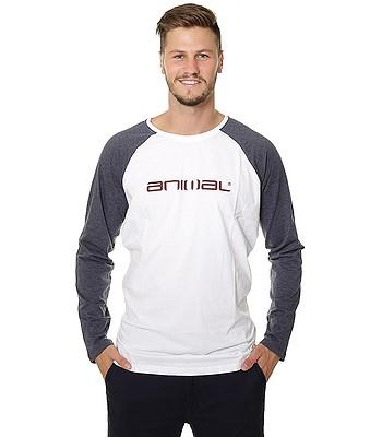 tričko Animal Action LS - White  3ec50308e60